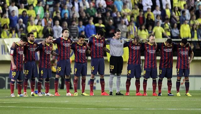 برشلونة يغرق الغواصة الصفراء بنيران صديقة