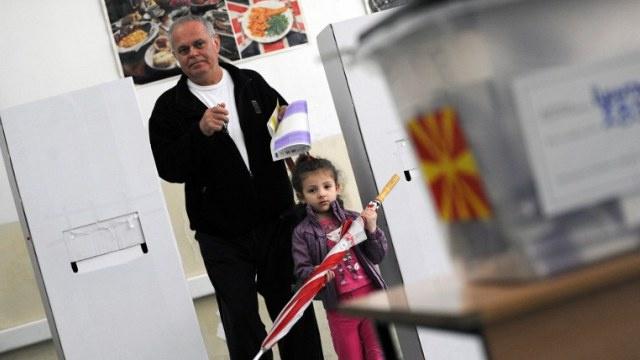 الحزب الحاكم يفوز في الانتخابات البرلمانية والرئاسية في مقدونيا