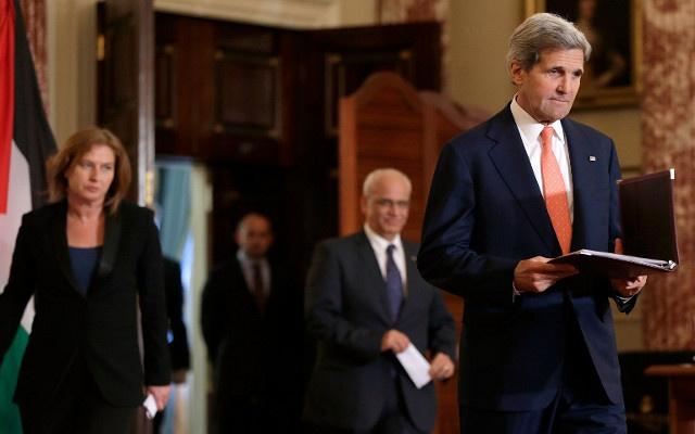 الخارجية الأمريكية تنفي ما نسب الى كيري من القول إن اسرائيل قد تتحول الى