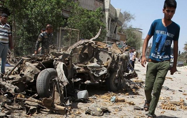 مقتل 12 على الأقل وإصابة 20 في تفجير مزدوج بديالى