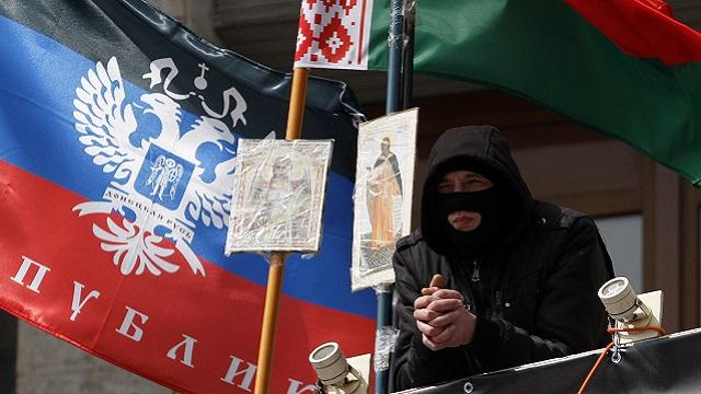 أنصار الفدرلة يستولون على مقري الإدارة المحلية والنيابة العامة لمقاطعة لوغانسك شرق أوكرانيا