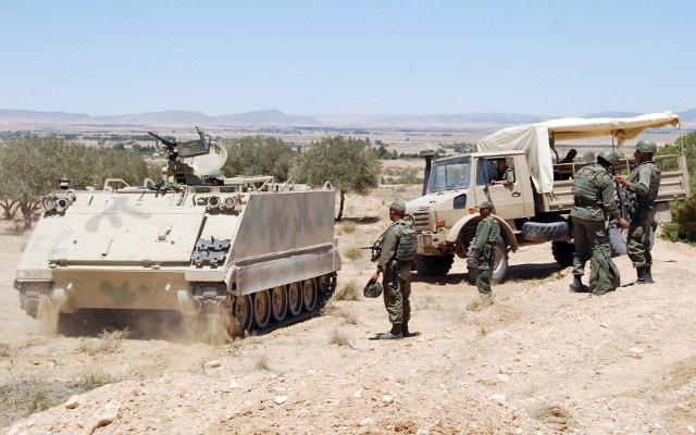 الأمن التونسي يبدأ عملية عسكرية كبرى ضد المتشددين بجبل الشعانبي
