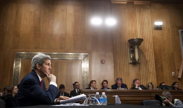 واشنطن تنفي ما نسب الى كيري عن أدلة على تورط روسيا في الاضطرابات بشرق أوكرانيا