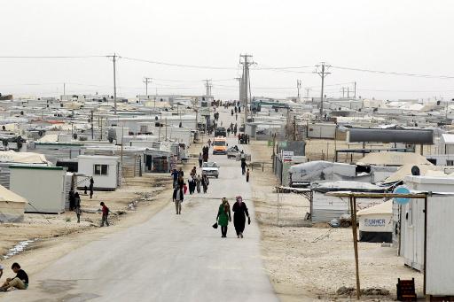 افتتاح اكبر المخيمات للاجئين السوريين في الاردن