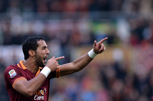 المغربي بن عطية أفضل لاعب في روما