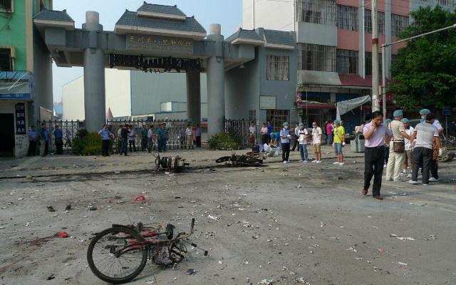 مقتل 3 أشخاص وجرح العشرات في انفجار بمحطة قطار في الصين