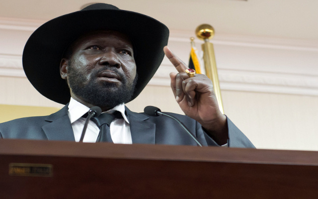 رئيس جنوب السودان يبدي استعداده للقاء زعيم المتمردين