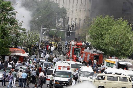 انفجار سيارة مفخخة في منطقة السومرية عند مدخل معضمية الشام في ريف دمشق