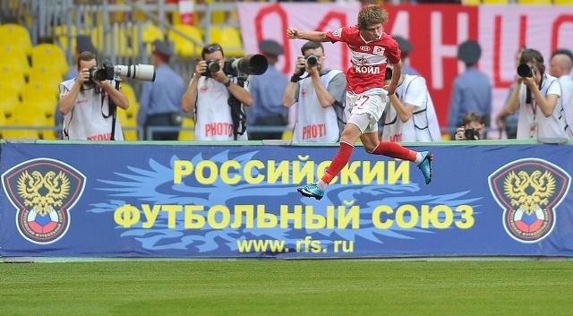 سبارتاك موسكو يسقط أمام ضيفه توم 1 - 2 في الدوري الروسي