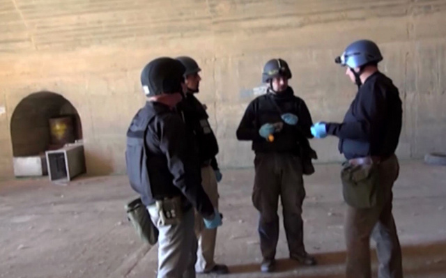 لافروف لكيري: سبب تأخر إخراج الأسلحة الكيميائية السورية هو نشاط المعارضة المسلحة