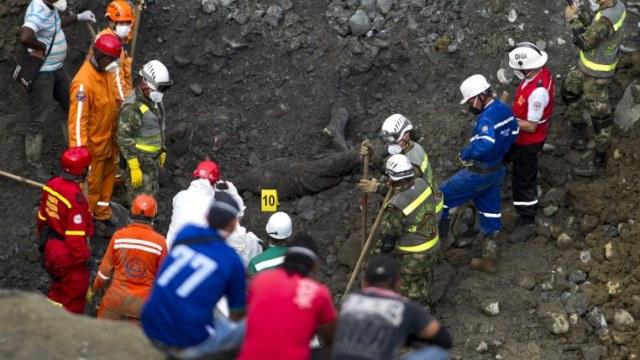 ارتفاع حصيلة ضحايا انهيار منجم للذهب في كولومبيا إلى 10 أشخاص
