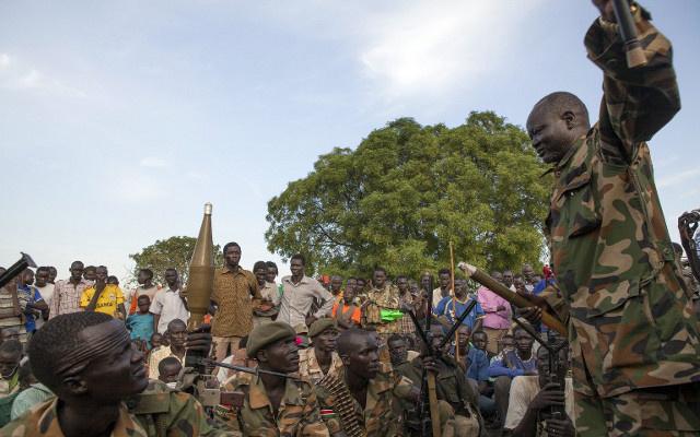 اشتباكات بين القوات الحكومية والمسلحين الموالين لمشار في جنوب السودان