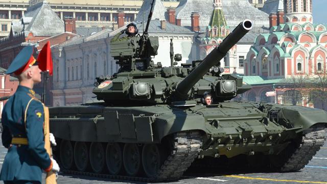 الاستعراض العسكري في الساحة الحمراء يوم 9 مايو الجاري