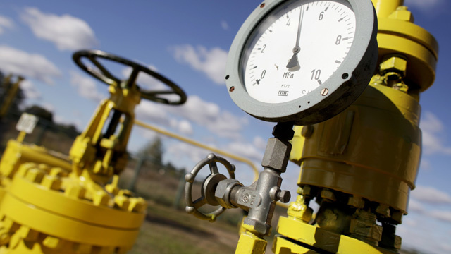 كييف تقلص وارداتها من الغاز الروسي بنسبة 13.8% في الربع الأول