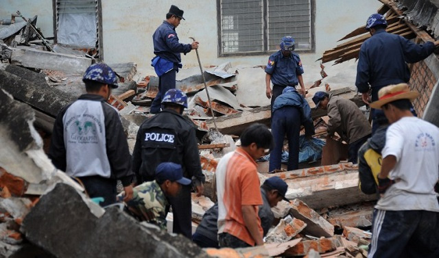 مقتل امرأة وإصابة 23 شخصا في زلزال ضرب شمال تايلاند وامتد إلى ميانمار