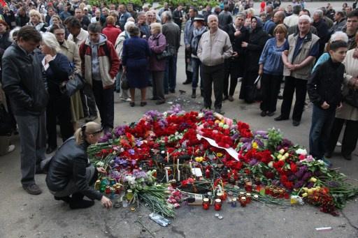مرشح الرئاسة الأوكرانية يدعو إلى إقالة الحكومة على خلفية أحداث أوديسا الدموية