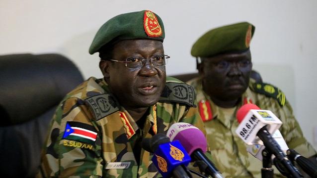 الخرطوم تنفي مزاعم قائد جيش جنوب السودان المنتهية ولايته بشأن تسليح المتمردين