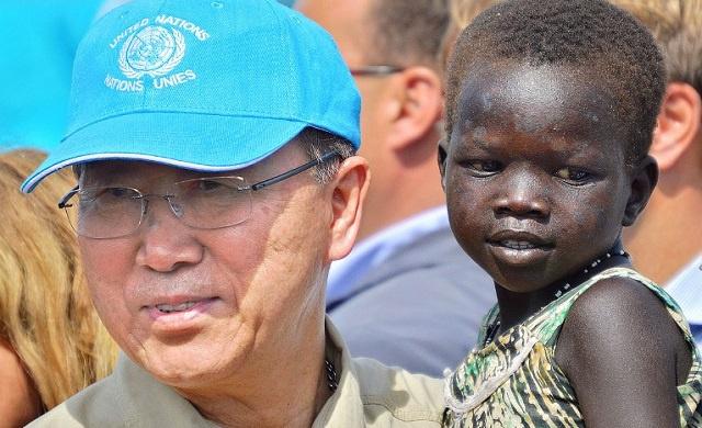 وصول الأمين العام للأمم المتحدة إلى جنوب السودان للمساعدة بوضع حد للعنف (فيديو)