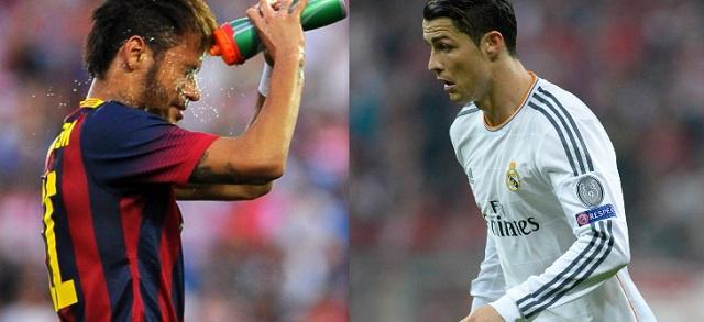 رونالدو يعترف بمهارات نيمار ويعينه وليا للعهد كأفضل لاعب في العالم