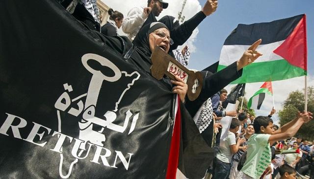10 آلاف شخص من عرب إسرائيل يحيون الذكرى الـ 66 للنكبة الفلسطينية