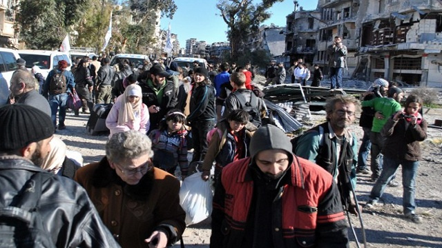 روسيا ترحب باتفاق حمص بين الحكومة السورية والمسلحين