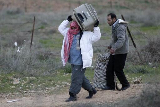 حرس الحدود الأردني يشتبك مع متسللين من الأراضي السورية ويصيب اثنين منهم