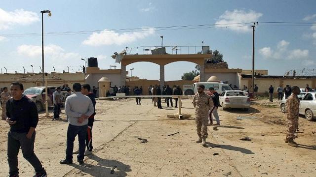 اغتيال مدير فرع المخابرات في بنغازي بليبيا