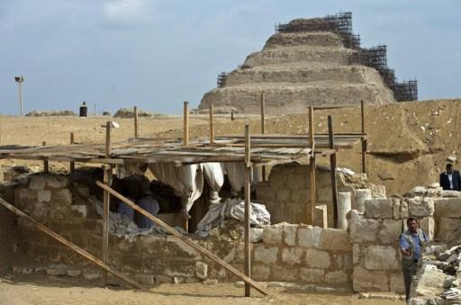 مصر...اكتشاف مقبرة عمرها 5600 سنة