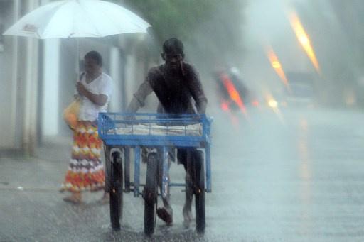 سريلانكا...تساقط أمطار سمكية