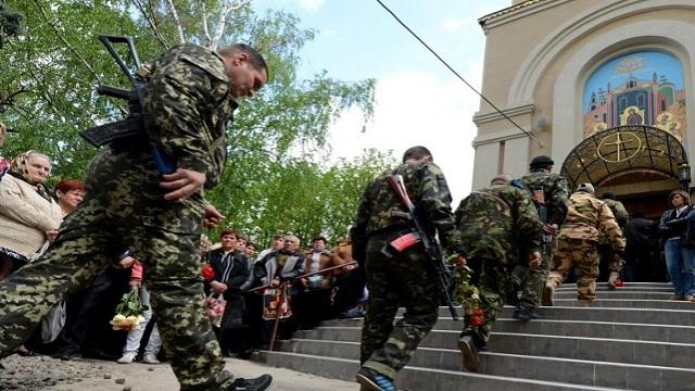 مقتل قس أرثوذكسي تابع لبطريركية موسكو في دونيتسك