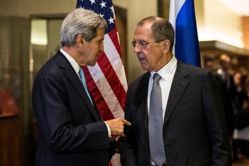 لافروف لكيري: نأمل بأن تقنع واشنطن كييف بوقف العملية العسكرية جنوب شرق أوكرانيا
