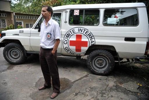 اطلاق سراح موظفي الصليب الأحمر بعد احتجازهم في دونيتسك