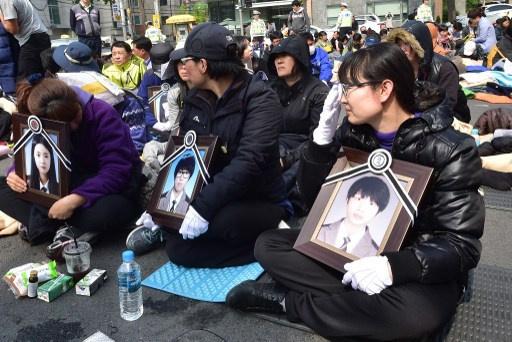 العثور على جثث جديدة في حادث غرق العبارة الكورية الجنوبية