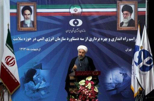 روحاني: لن نتراجع عن حقوقنا النووية أبدا