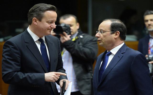بريطانيا وفرنسا تعتبران الانتخابات الرئاسية سبيل الاستقرار في أوكرانيا
