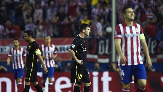 أتلتيكو مدريد وبرشلونة يؤجلان حسم لقب الليغا