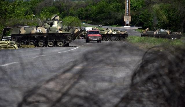 موفدنا: هدوء حذر في سلافيانسك بعد محاولة دبابات الجيش الأوكراني دخولها وقصف لبعض أحيائها