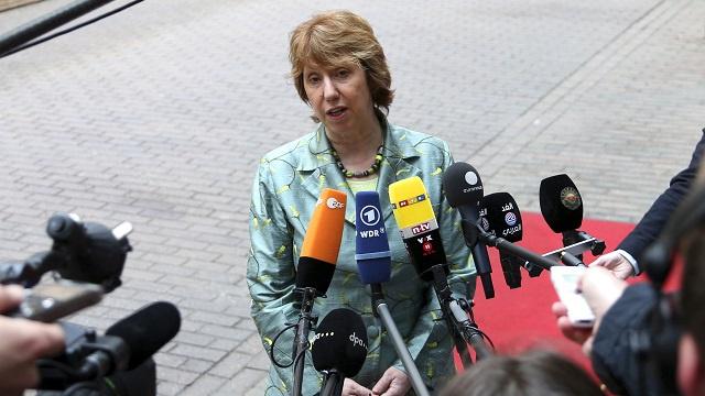 آشتون إلى جولة مفاوضات جديدة مع ايران في فيينا