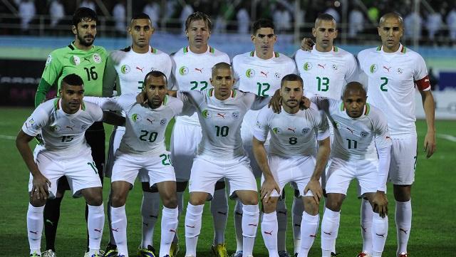 تشكيلة الجزائر الأولية لكأس العالم 2014