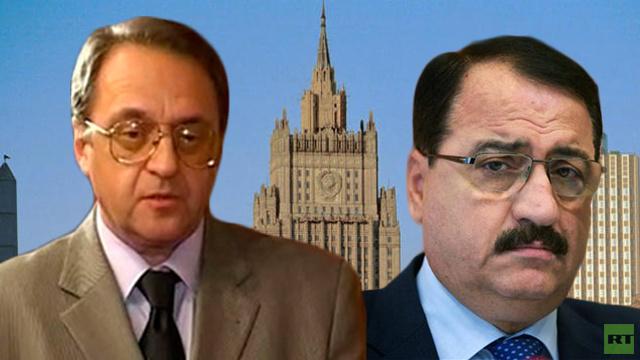 بوغدانوف وحداد يبحثان التسوية في سورية