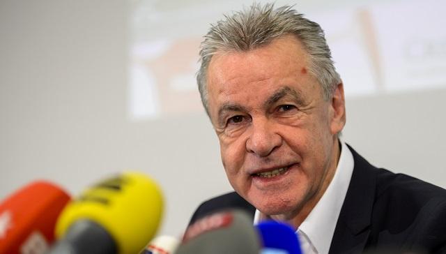المدرب هيتسفيلد يعلن تشكيلة سويسرا النهائية لمونديال 2014