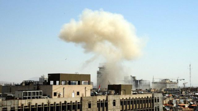 مراسلنا: 4 قتلى في تفجير انتحاري بسيارة مفخخة في مساكن الحرس قرب دمشق