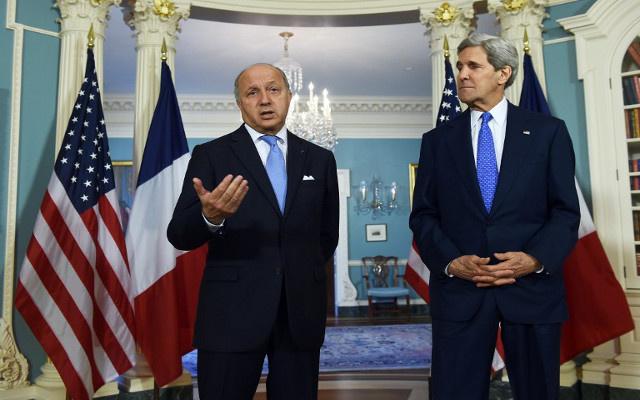 وزير الخارجية الفرنسي يتهم دمشق باستخدام السلاح الكيميائي