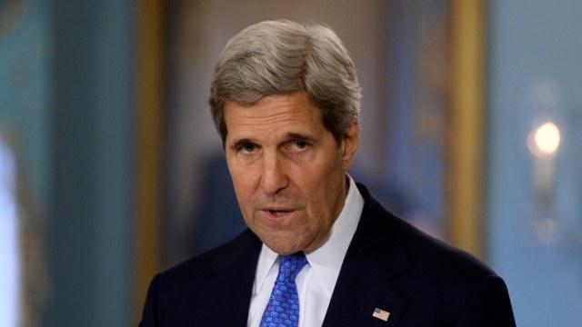 كيري: الولايات المتحدة تتعاون مع ألمانيا وروسيا لإطلاق حوار وطني في أوكرانيا