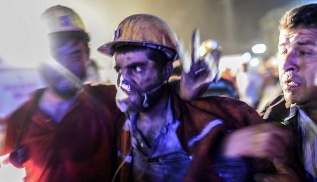 ارتفاع حصيلة ضحايا الانفجار في المنجم بتركيا إلى 274 شخصا (فيديو)