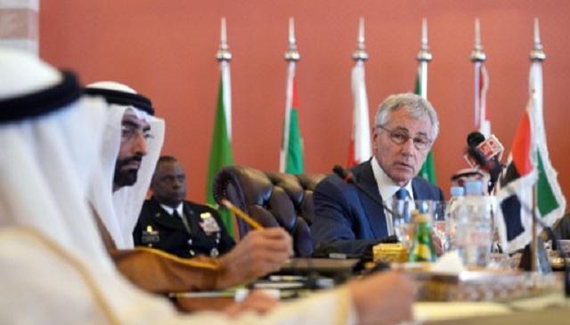 هاغل: المفاوضات النووية مع إيران لن تضعف أمن الخليج