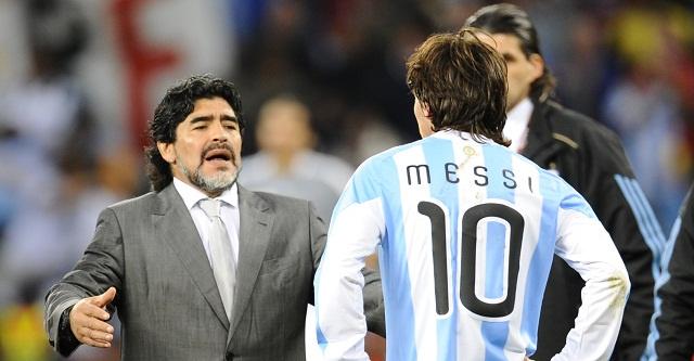 ليونيل ميسي يرفض مقارنته بالأسطورة الأرجنتينية مارادونا