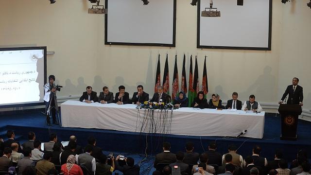 تأجيل الإعلان عن النتائج النهائية للجولة الأولى في انتخابات أفغانستان الرئاسية