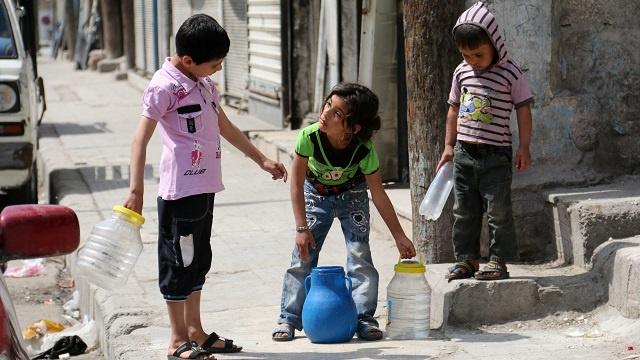 جمعية كاثوليكية تطالب البابا بالتدخل لإعادة المياه إلى مدينة حلب