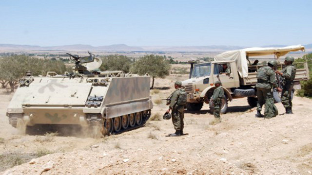 إصابة ضابط من الجيش التونسي في انفجار لغم بجبل الشعانبي